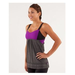 Lululemon Back on Track Tank Purple